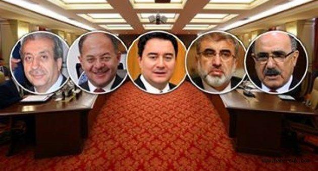 AKP'de dışlanan 5 ağır top