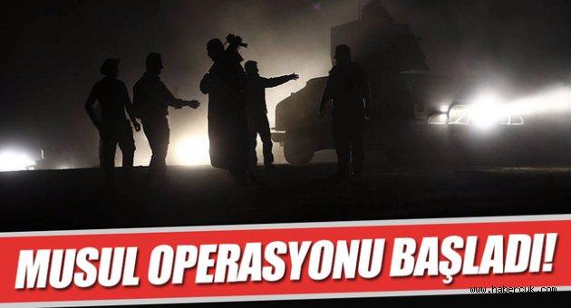 Musul Operasyonu 'Türkiyesiz' başladı