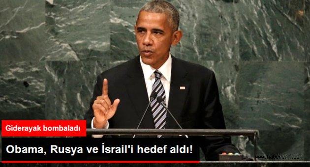 Obama İsrail'e işgalci dedi