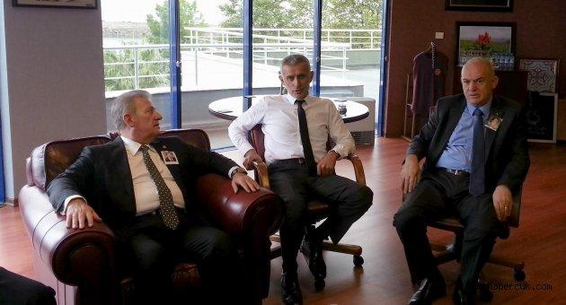 Pekşen ile Hacıosmanoğlu ne konuştu?