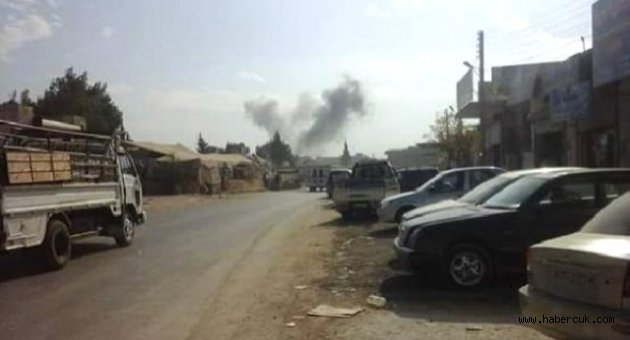 Rusya, Türkiye Sınırındaki Sarmada Kasabasını Vurdu