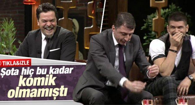 Şota Arveladze Trabzon anısı Beyaz Şov'u kırdı geçirdi