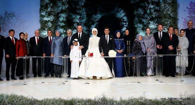 Sümeyye Erdoğan ile Selçuk Bayraktar dünyaevine girdi
