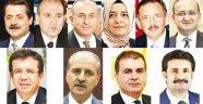 AK Parti'nin kabine şifreleri