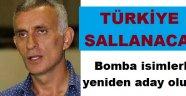 Hacıosmanoğlu bomba isimlerle adaylığını açıklıyor