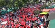 Meydan parkında Demokrasi nöbeti fırsatçıları