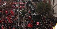Şehit cenazesine AK Parti logosu konulması olay oldu