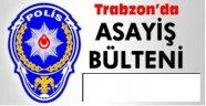 Trabzon'da 649 kişi hakkında işlem yapıldı