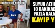 Trabzon'u sarsan Jet-ski kazasının nasıl olduğu ortaya çıktı