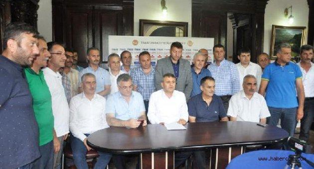 Trabzon'da sendikalar terörü lanetledi