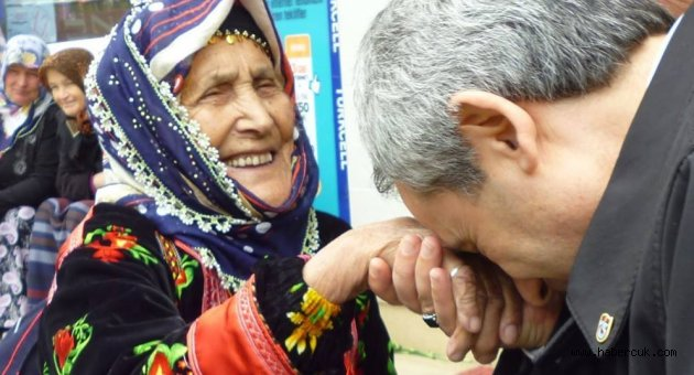 Trabzon'da izi olan kadınlar çalışması