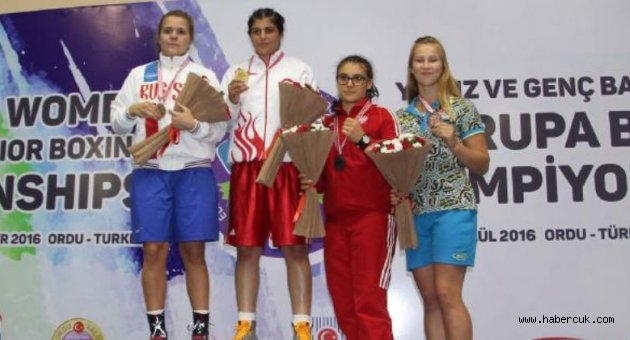 Trabzonlu Busenaz Avrupa şampiyonu