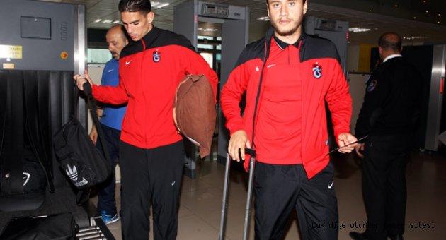 Trabzonspor 6 eksikle gitti