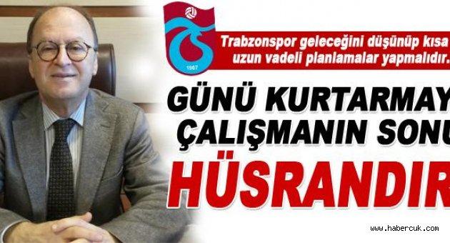 Trabzonspor eski yöneticisi Bahadır'dan önemli açıklamalar