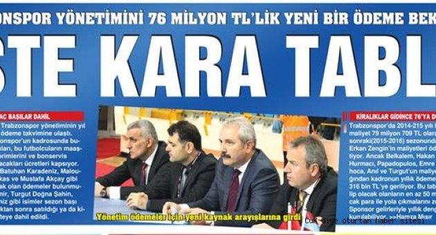 Trabzonspor'da ekonomik durum vahim