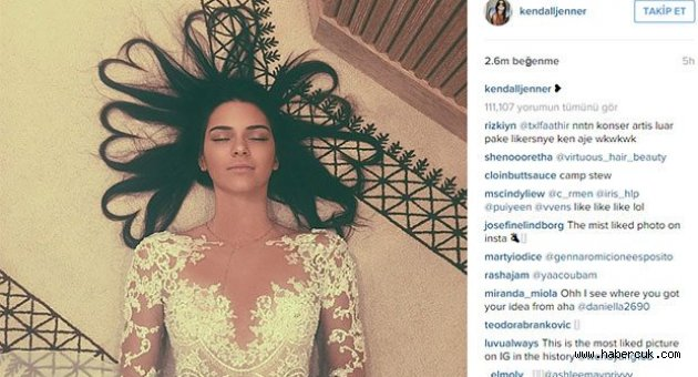 Tüm Zamanların En Çok Beğeni Alan Instagram Fotoğrafı