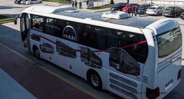 Türkiye'nin ilk 'güneş otobüsü' ODTÜ'den