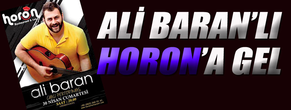 Ali Baran ile coşmaya hazır mısın?