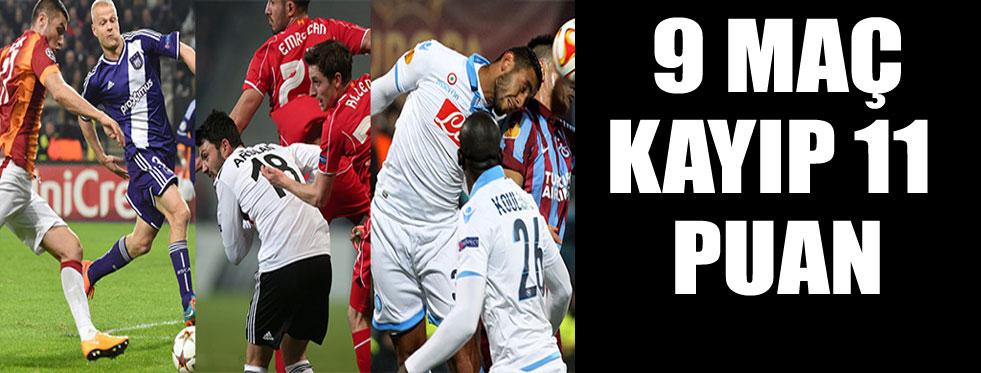 Beşiktaş, G.Saray ve Trabzon'un Avrupa kâbusu!