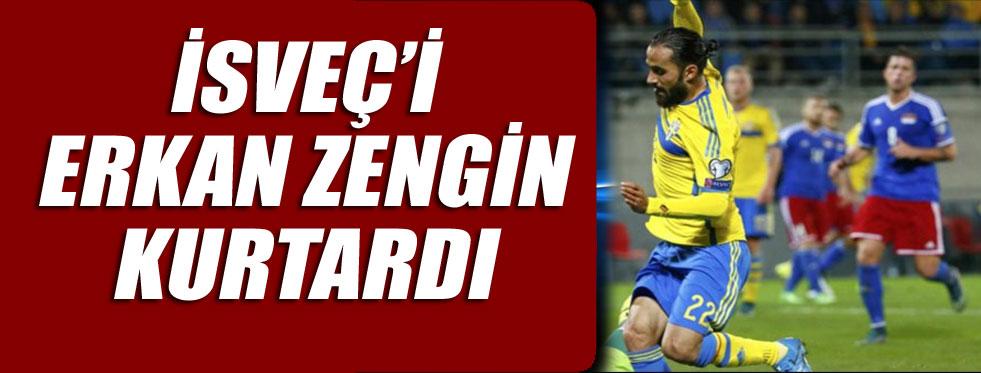 Erkan Zengin'den müthiş gol, Zlatan'la yarışıyor