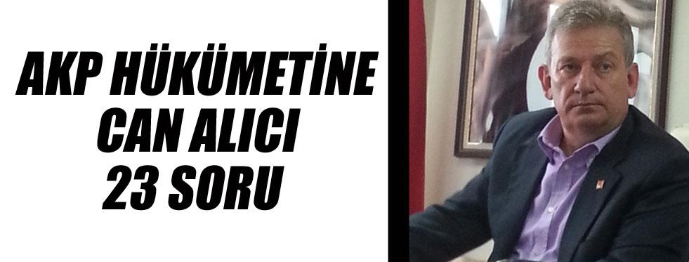 Haluk Pekşen terör olaylarıyla ilgili AK Parti'ye 23 soru