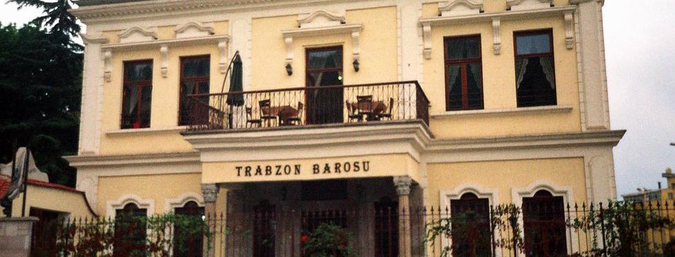 Trabzon Barosu ŞOK!