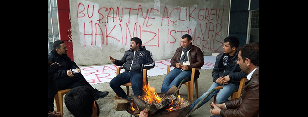 Trabzon'da 6 aydır maaşını almayan işçiler TBMM'de...