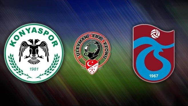 Trabzonspor Atiker Konyaspor maçı muhtemel 11'ler