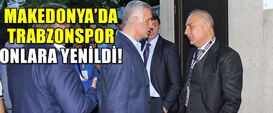 Trabzonspor Hacıosmanoğlue ve Süleyman Hurma'ya Yenildi!
