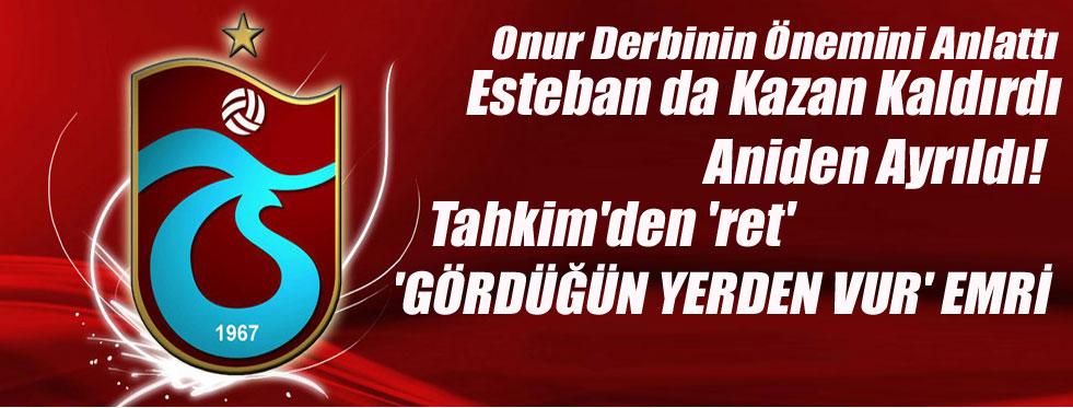 Trabzonspor'da neler oluyor?