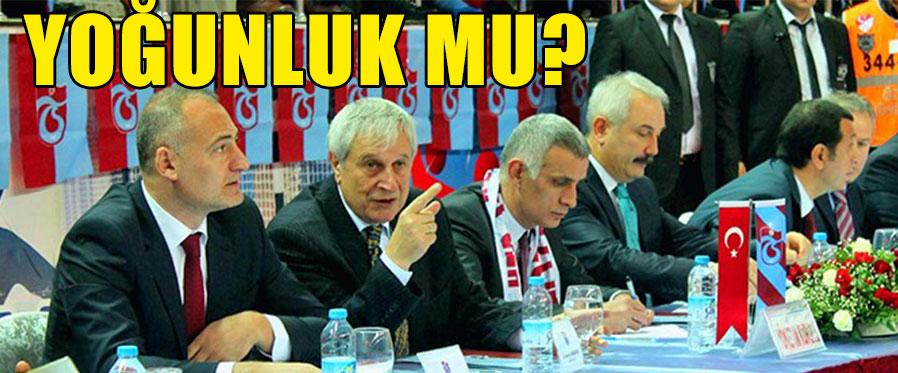 Trabzonspor'da O Toplantı İptal!