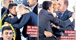 Koruma ordusunu nasıl aştı / Erdoğan şoka uğradı