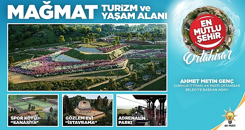 AK Parti Ortahisar Belediye Başkan Adayı Ahmet Metin Genç projelerini anlatıyor