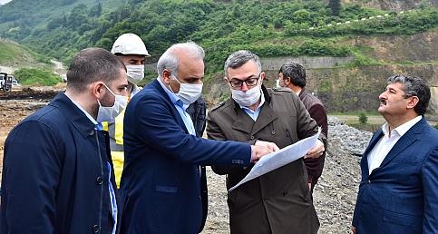 Trabzon Büyükşehir Belediyesi'nden dev tesis