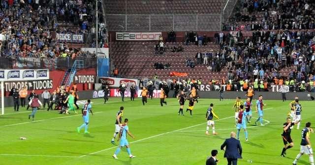 Trabzonspor-Fenerbahçe maçı olaylar saniye saniye...