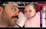 Demet Akalın'ın meleği Hira bebeğin ilk görüntülerini paylaştı