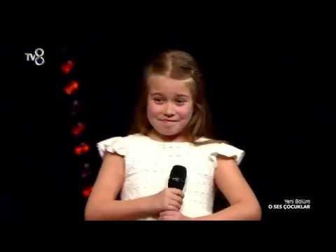 Trabzonlu İşadamının kızı Tanem Terzi O SES ÇOCUKLAR yarışmasında büyüledi
