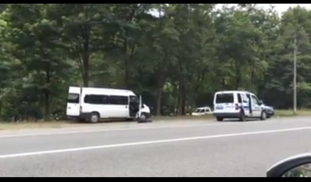 Maçka'da polisle teröristler çatıştı