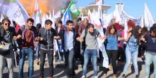 Ankara Tren Garındaki Patlama Anı
